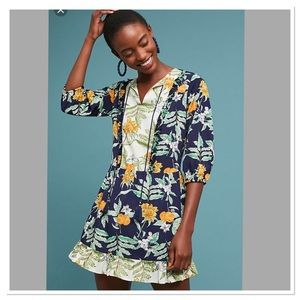 Anthropologie Lost+Wander Limon Tunic Dress size S